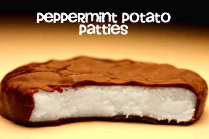 Peppermint Potato Patties
